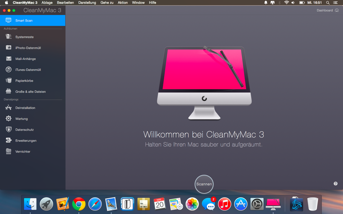 Review – CleanMyMac 3 unter der Lupe