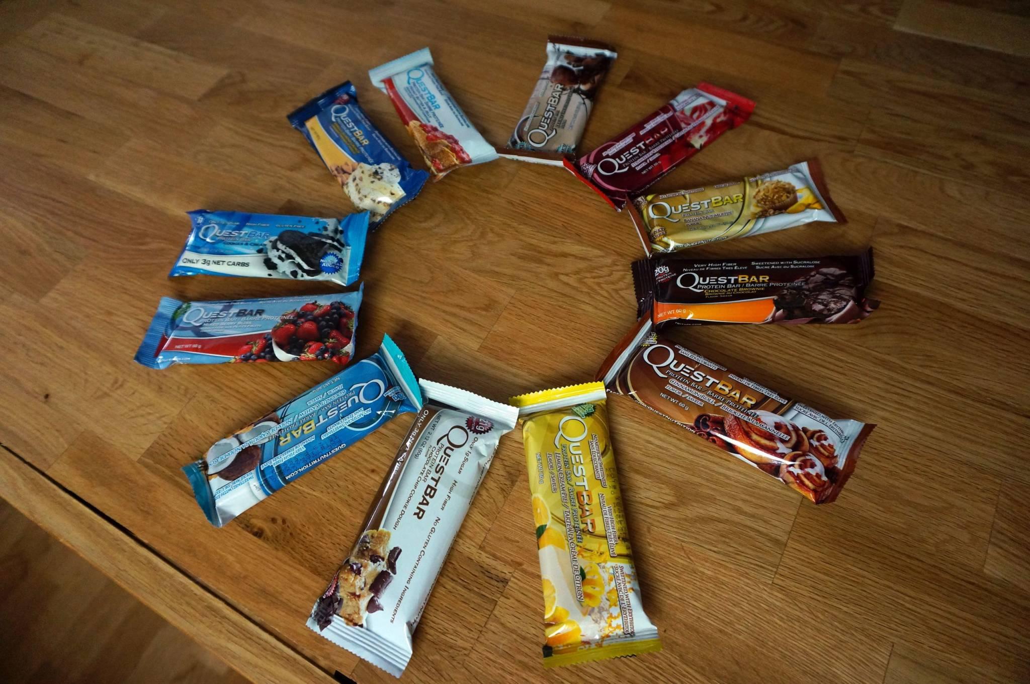 Questbar Proteinriegel – Geschmack und Review