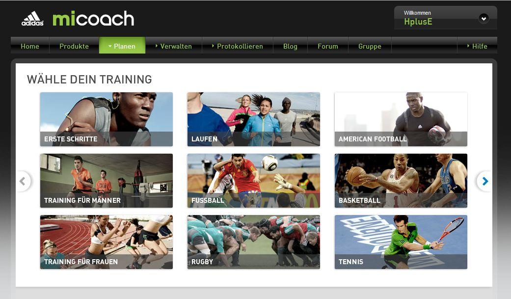 adidas miCoach – Der Weg zu einer soliden Grund-Fitness