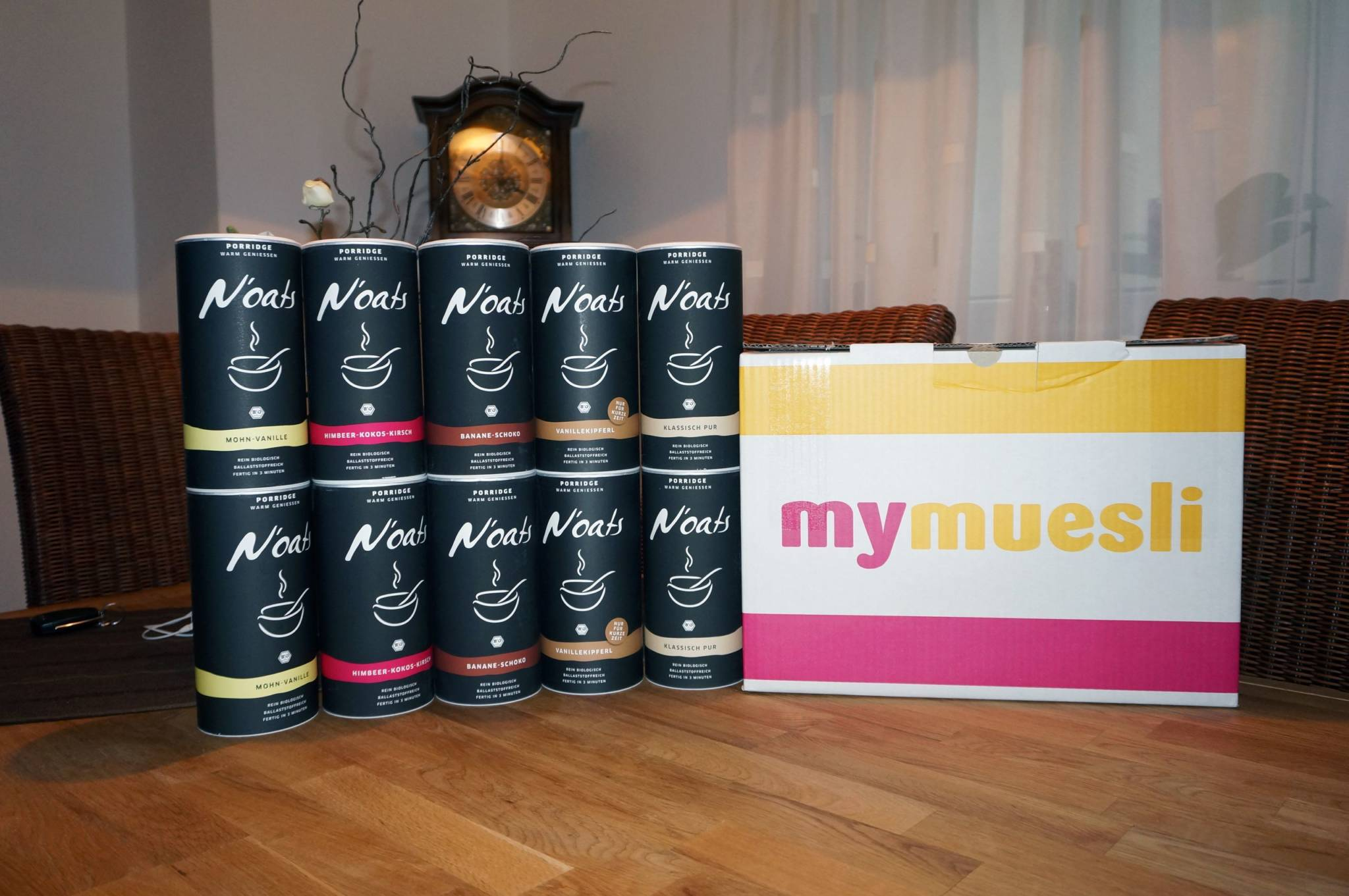 Review / Erfahrungsbericht – MyMuesli Noats (Porridge)